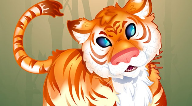 tiger illsutarion 25 Fresh new illustrator tutorials from 2015
