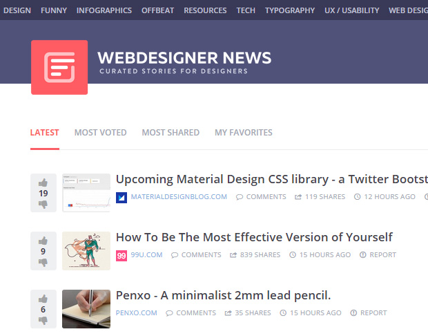 wedesignnews2 The best site for keeping up to date with the latest webdesign news & trends