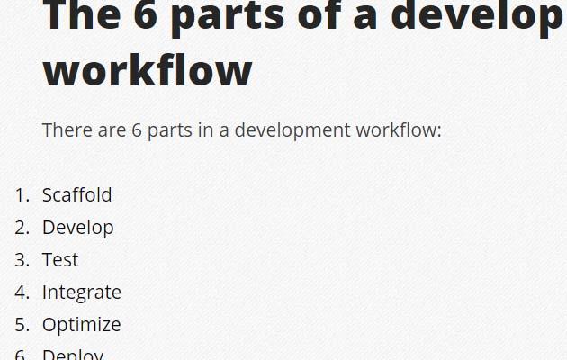 devlopment work flow Best Of The Web And Design In June 2015