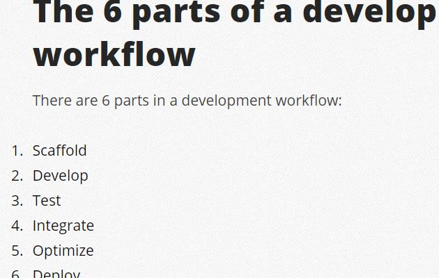 devlopment work flow1 Best Of The Web And Design In June 2015