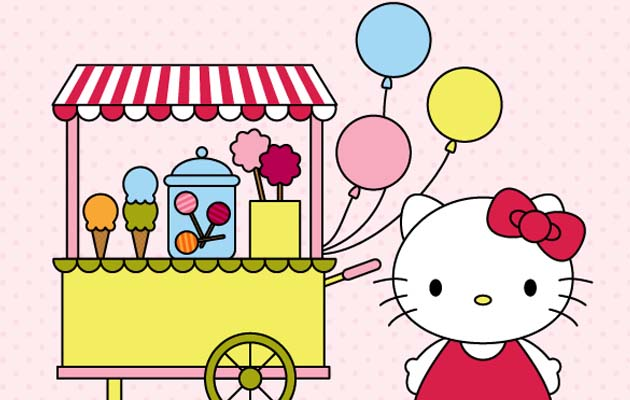 hello kitty Best Of The Web And Design In June 2015