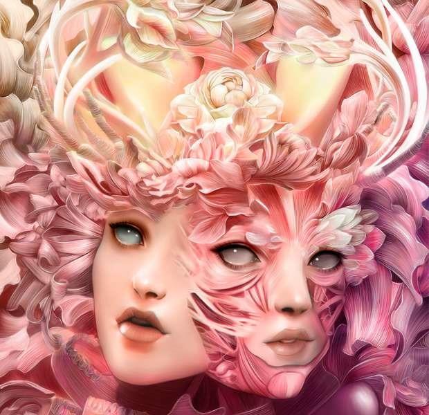 20 creative examples of beautiful digital art for Beautiful creative art