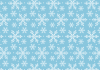 blue-winter-snowflake-pattern