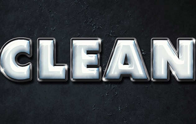 clean text effect 50 amazing modern Photoshop text effect tutorials