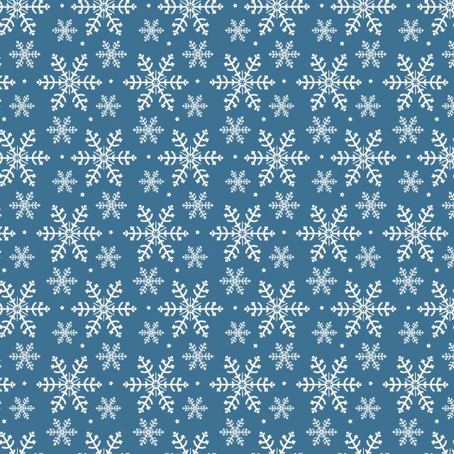 dark blue snowflake pattern Winter snowflakes free seamless vector pattern