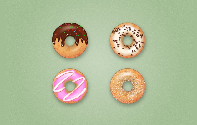 donuts Best Of The Web And Design In August 2015