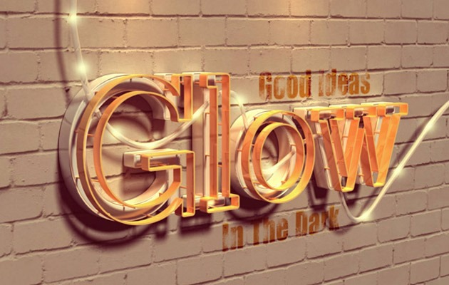glow text effect 50 amazing modern Photoshop text effect tutorials