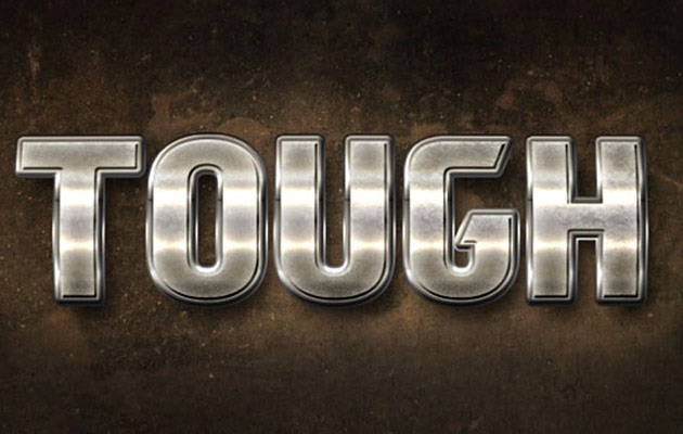 metal text effect 50 amazing modern Photoshop text effect tutorials