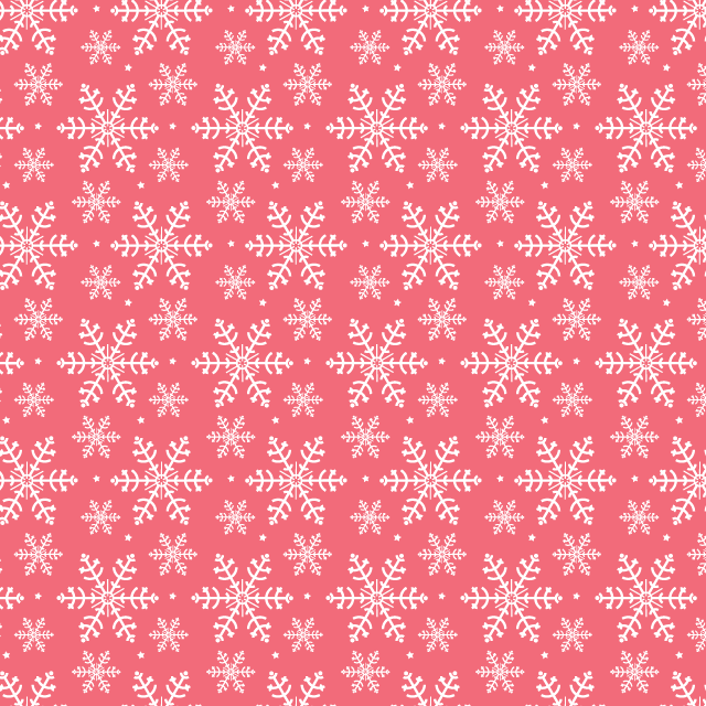pink snowflake pattern Winter snowflakes free seamless vector pattern