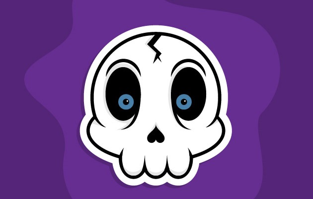 skull sticker Best Of The Web And Design In August 2015