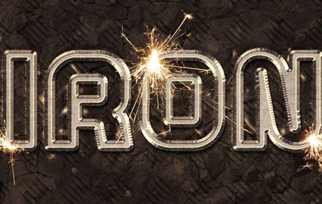 spark effect 50 amazing modern Photoshop text effect tutorials