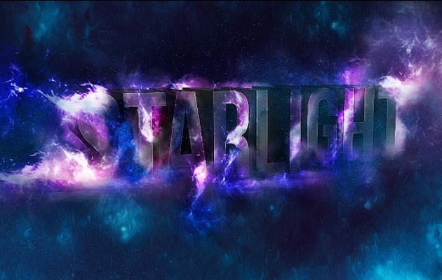 star light 50 amazing modern Photoshop text effect tutorials