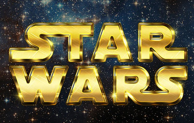 star wars 50 amazing modern Photoshop text effect tutorials