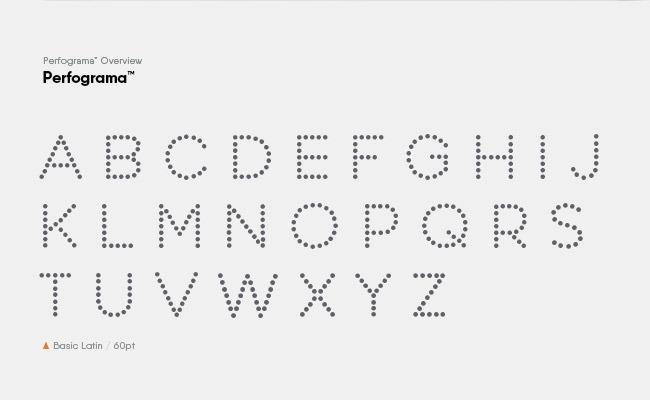 perfogma 30 Creative and unique free fonts to use in your designs