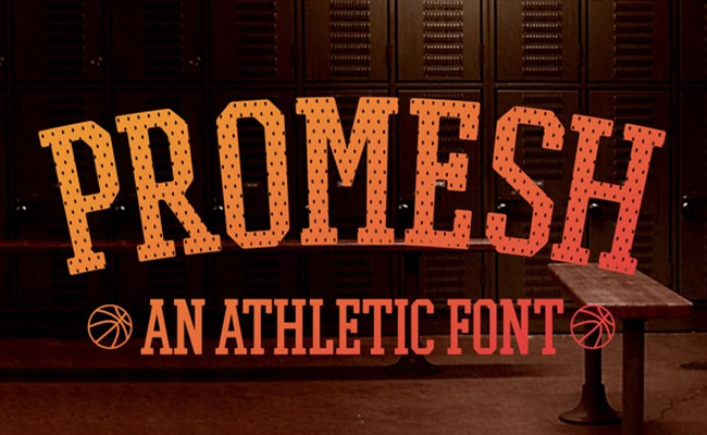 promesh 30 Creative and unique free fonts to use in your designs