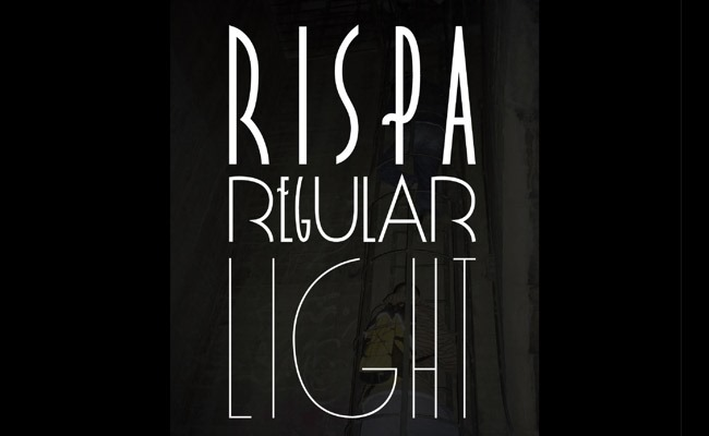 rispa 30 Creative and unique free fonts to use in your designs