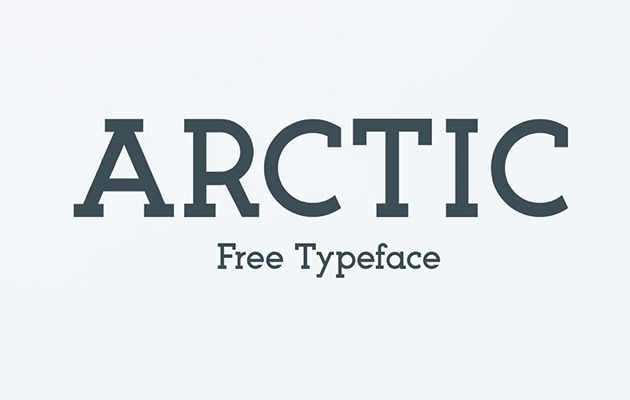 artic thumb 40 Best free fonts from 2015