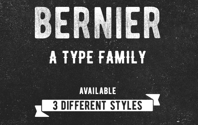 berneri thumb 40 Best free fonts from 2015