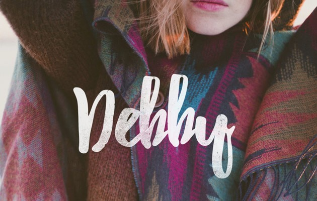 debbie 40 Best free fonts from 2015