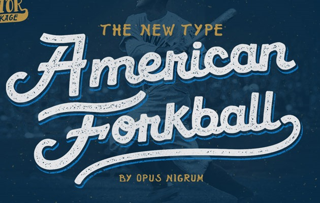 fork ball 40 Best free fonts from 2015