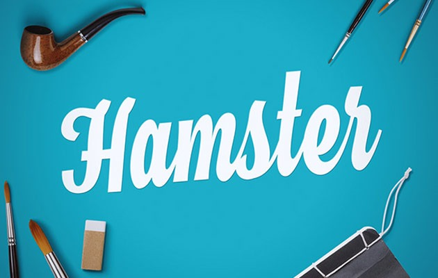 hamster 40 Best free fonts from 2015