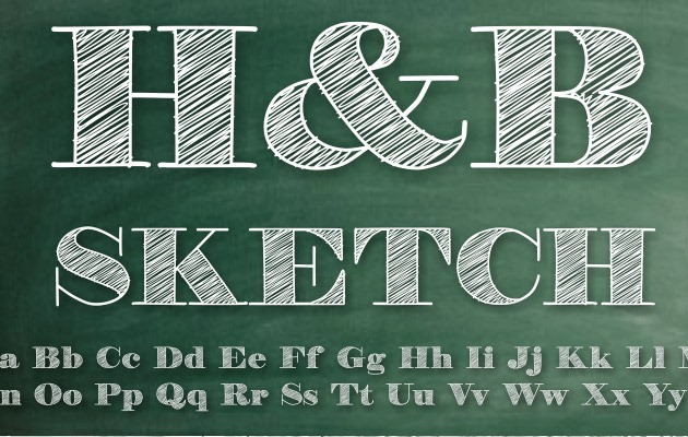 hb sketch 40 Best free fonts from 2015