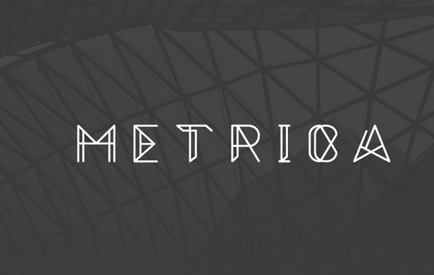 metrica 40 Best free fonts from 2015