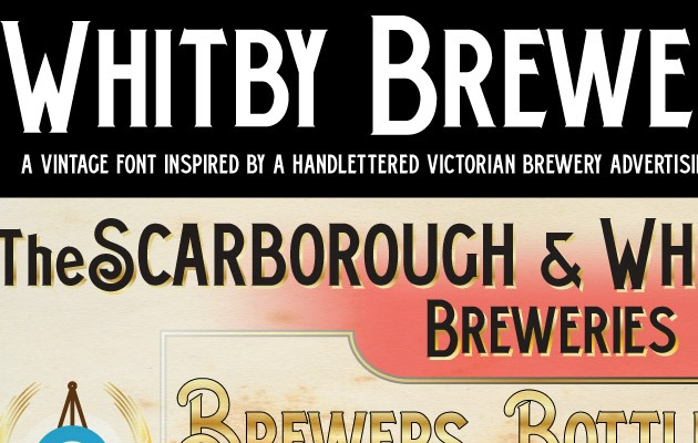 whitby 40 Best free fonts from 2015