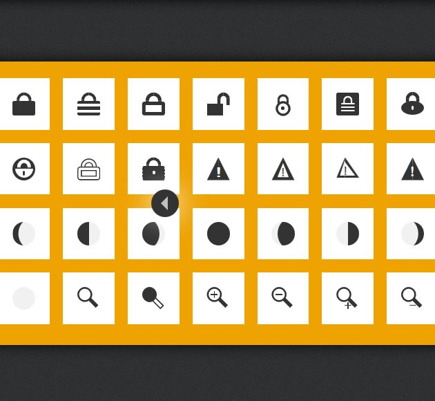 uiicons 20 free CSS icon sets for Web Designers
