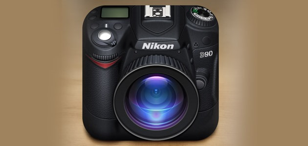 camera 25 Amazing IOS icon designs