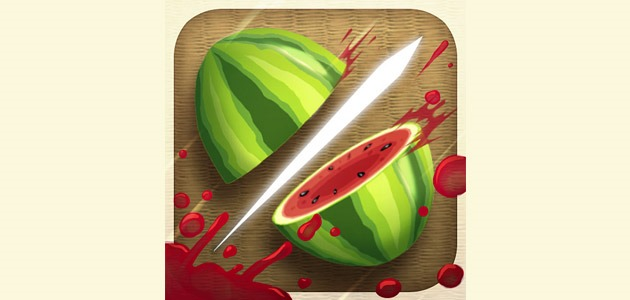 fruit ninja thumb 25 Amazing IOS icon designs