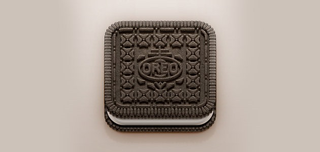 oreo 25 Amazing IOS icon designs