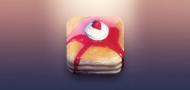 pankcakes 25 Amazing IOS icon designs