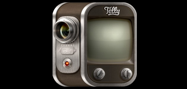telly icon 25 Amazing IOS icon designs