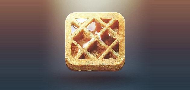 waffle 25 Amazing IOS icon designs