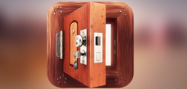 wooden safe icon 25 Amazing IOS icon designs