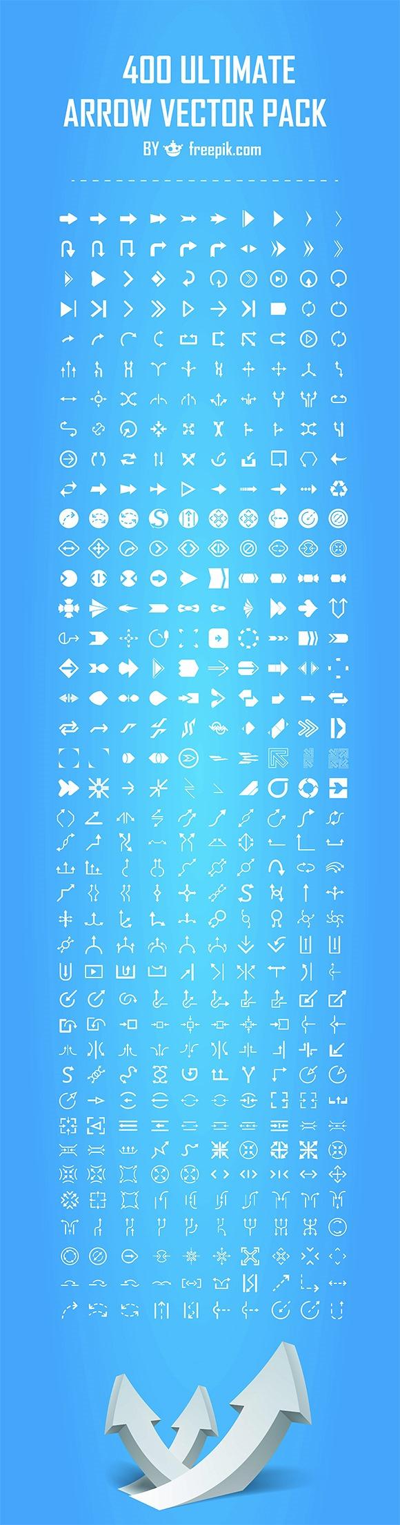 arrow set thumb 1000+ bundle of amazing free design resources