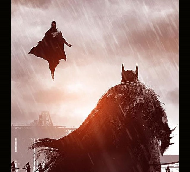 bat man illustration 30 Awsome Batman vs Superman illustrations