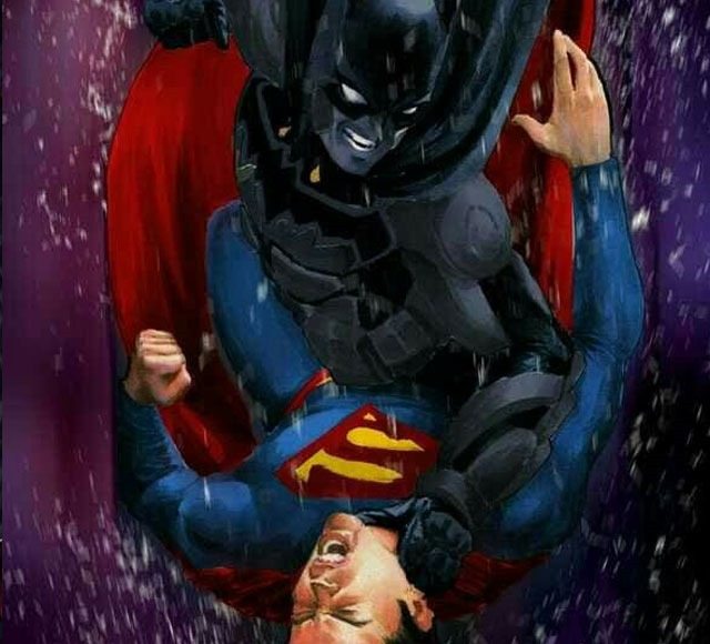 billa busha 30 Awsome Batman vs Superman illustrations