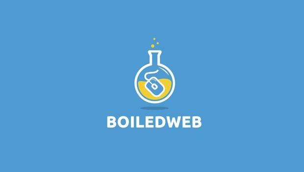 boiled web 20 Creative flat modern logo designs
