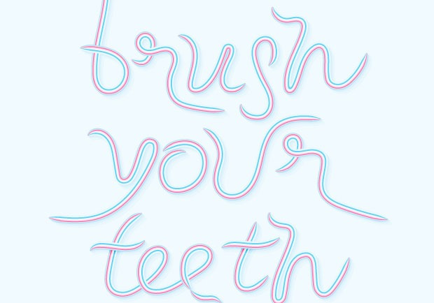 brush your teeth 60 best Illustrator tutorials from 2016