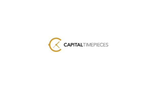 capital time piecies 20 Creative flat modern logo designs