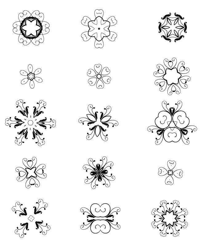 decorative elements edition 3 15 unique decorative free vector elements Edition #3
