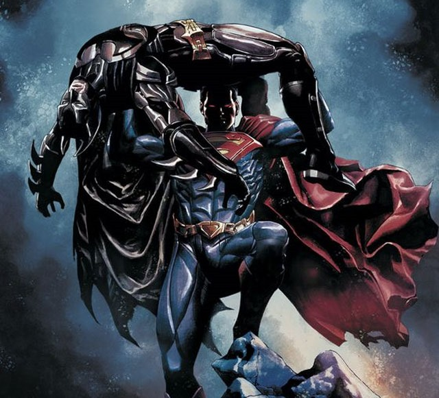 injustice inspiration 30 Awsome Batman vs Superman illustrations