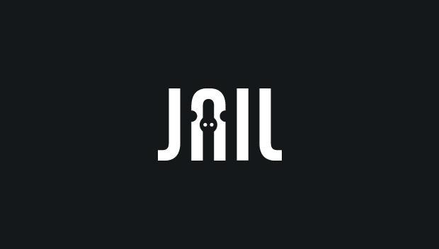 jail 20 Creative flat modern logo designs