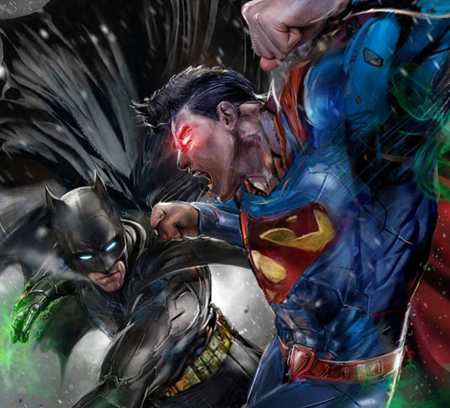 jonh dunlop batman vs superman 30 Awsome Batman vs Superman illustrations