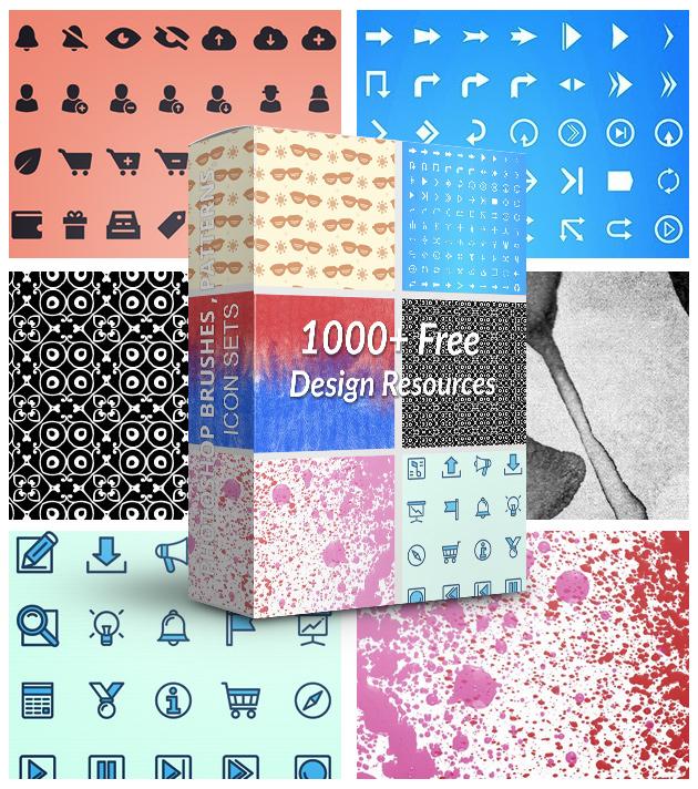 newsletter signup 1000 design bundle 2 1000+ bundle of amazing free design resources
