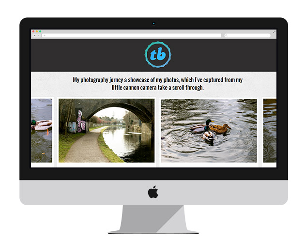 screens Showcase   free Flickr Portfolio website template