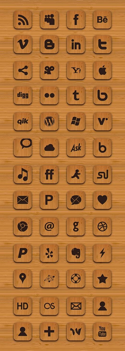 woodiconset 1000+ bundle of amazing free design resources