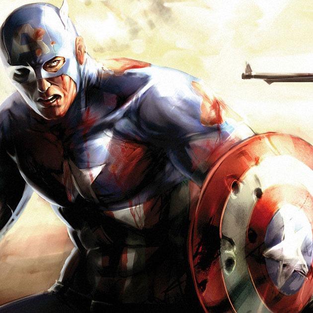 captinamerica agn Awesome Captain America illustration showcase